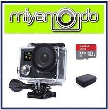 Eken H8R Action Camera 4K Ultra HD WiFi (Black) + Ultra microSD 32GB + Case