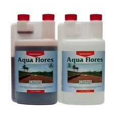 Canna Aqua Flores A & B 1 Litre Hydroponic Flowering Nutrients