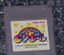Kirby no Pinball GAME BOY / COLOR / ADVANCE JAP 9 710 1735