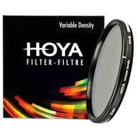 Hoya Variable Density Filter (ND3~ND400) 52, 55, 58, 62, 67, 72, 77, 82mm