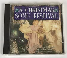 A Christmas Song Festival CD COMPLETE RARE OOP Holiday Music Free Shipping
