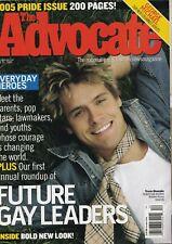 The Advocate June 21 2005 Travis Shumake George Michael 060719DBE