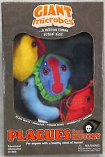 GIANT MICROBES-PLAGUES FROM HISTORY THEME BOX-Typhoid Cholera Smallpox Flu