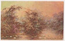 Cynicus, Where Fairies Dream Art Postcard B614