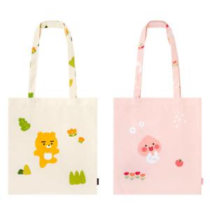 Kakao Friends Ryan Apeach April Shower Pattern Illustration Eco Bag Fabric Bag