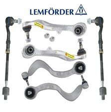 BMW E63 E64 E65 Front Control Arms + Ball Joint & Tie Rod Ends Kit OEM Lemforder
