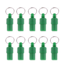 Pack of 10 Anti-Lost Pet Dog Cat ID Stainless Steel Tag Name Address Tube