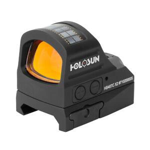 Holosun HS407C-GR X2 Red Dot Sight mini Tactical Hunting Shuting Refle