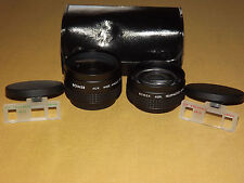 2 BOWER CAMERA TELEPHOTO & WIDE ANGLE LENS DISTANCE TO OBJECT 2M NOS NEW