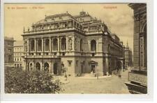 AK Budapest, Operaház, Oper, 1907