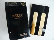 Blättchen Marca Superieure Paris  Deutsche Klarinette Stärke 3,5  10 Stück, neu