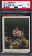 T220 Champions Fight Between John Sullivan & Jake Kilrain PSA 5 *698295