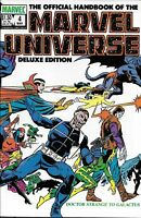 Official Handbook Of The Marvel Universe Comic Issue 4 Copper Age First Print