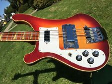 1980 Rickenbacker 4003 Bass Lefty Left Handed Fireglo 4001