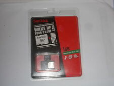SanDisk MS Memory Stick Micro (M2) 1GB & Adapter for Sony Ericsson Phones NEW !!