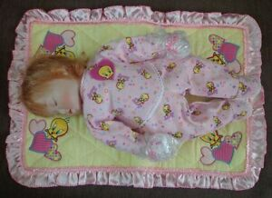 Ashton Drake Porcelain Baby Doll Tweet Dreams Looney Tunes Cuties Collection New