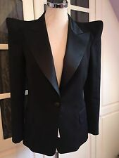 **BALMAIN** Iconic Peaked Shoulder Jacket Blazer **REDUCED IN PRICE**