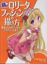 How to Draw Manga Book / Moe Lolita Fashion From Body to Costume