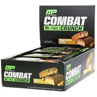 MusclePharm  Combat Crunch  Peanut Butter Lovers  12 Bars  2 22 oz  63 g  Each