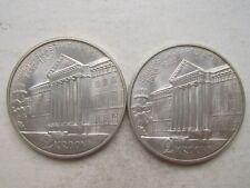 Estonia Silver 2 Krooni 1932 Tartu Universitas UNC Condition !!! Mint Luster