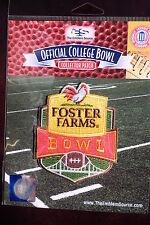 NCAA College Football Foster Farms Bowl Patch 2015/16 UCLA & Nebraska