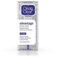 Clean & Clear ADVANTAGE Acne Spot Treatment Oil-Free 0.75 oz