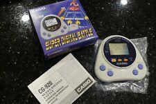 Casio SUPER DIGITAL BATTLE  ✨RARE✨ Vintage Electronic Handheld  Video Game WATCH