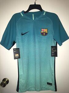 Nike Aeroswift 2016/2017 FC Barcelona 3rd Kit Match Jersey Men's Size Small