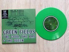 """The Good The Bad & The Queen .. Green fields  7"""" Green Vinyl  . Blur Gorillaz"""