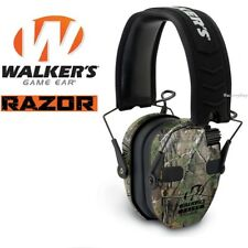 Walkers Game Ear Walker's Razor Quad Camo Muff Electronic Four Microphones Range