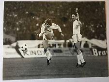 photo press football   Tchécoslovaquie-France Mars 1979 but de Stambacher    137