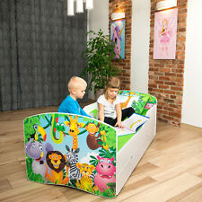 Bed Kids Bed Mattress Children Furniture Bed Toddler Bedroom Frame Foam Mattress