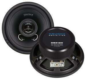 Crunch DSX120 12 cm 2-Wege-Lautsprecher 160 Watt (RMS: 80 Watt)