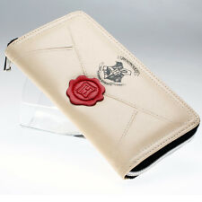 Harry Potter Hogwarts Stamp Letter Zip Around Wallet Gift Fashion Women Purse