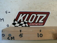 STICKER,DECAL KLOTZ SYNTHETICS FINISH FLAG OIL ?