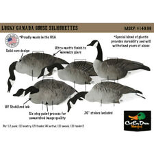 LUCKY DUCK LUCKY SILHOUETTES - CANADA GOOSE SILHOUETTE DECOYS - 12 PACK -