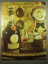 1966 Benedictine Liquor Ad - La Grande Liqueur Francaise