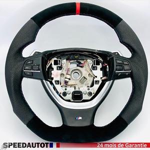Volant Cuir M-Power SMG BMW F10,F11,F12,F13 Echange standard-