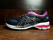 ASICS GEL-Kayano 26 (Black / Blue Coast) (1012A457-004) Running Womens 6-11