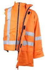 Can't Tear Em 3XL 4 in 1 Hi Vis Orange Cotton Drill Jacket