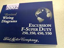 2002 Ford EXCURSION TRUCK F-250 F350 F250 450 550 Electrical Wiring Manual EWD