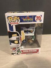 "VOLTRON Defender of the Universe Pop Animation 4"" Vinyl Figure #70 Funko 2015"