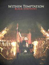"Symphonic Gothic Metal 2008 WITHIN TEMPTATION ""Black Symphony"" (SM) T-Shirt"