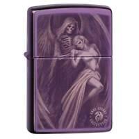 Zippo Windproof Lighter Anne Stokes High Polish Purple (29717)