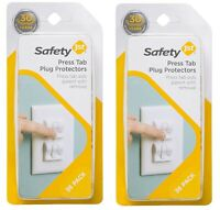 Safety 1st HS260 72 Pack Press Tab Plug Protectors (Outer Packaging Damaged)