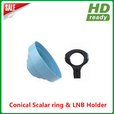 Hot Sales Conical Scalar ring with C Band LNB Holder bracket 65MM diameter