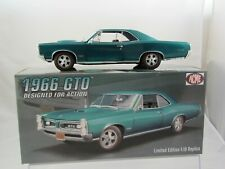Acme 1966 Pontiac GTO 'Designed for Action' in Marina Turquoise A1801212