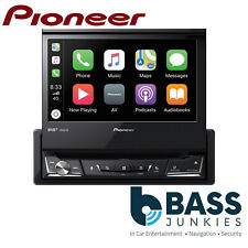 "Pioneer AVH-Z7200DAB 7"" Flip Out DVD DAB Bluetooth WAZE iPhone Carplay AV Screen"