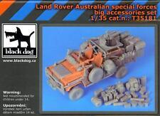 Blackdog Models 1/35 AUSTRALIAN SPECIAL FORCES LAND ROVER Deluxe BIG Resin Set