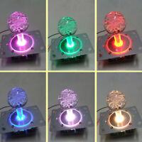 Arcade Mame Controller 4-8 way 12v Illuminated LED Joystick For Arcade Cabinet